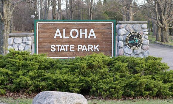 Aloha State Park Campground Michigan