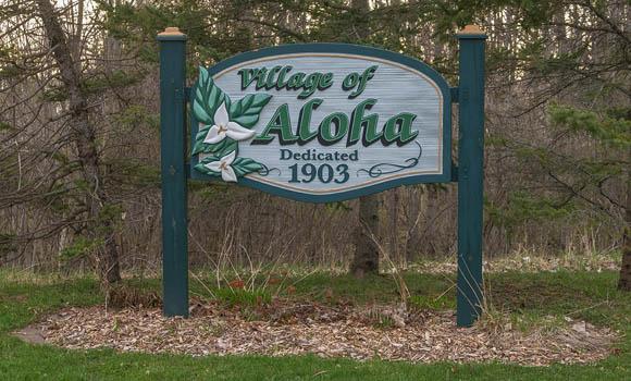 Village of Aloha Michigan